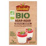 Vahiné Bio Agar-Agar Plantaardig Geleermiddel 4 Zakjes 8 g
