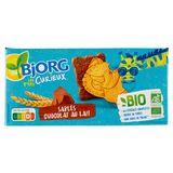 Bjorg Bio Les P'tits Curieux Sablés Chocolat au Lait 192 g