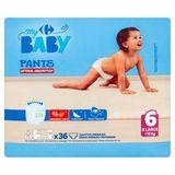 Carrefour Baby Pants 6 X Large +16 kg 36 Broekjes