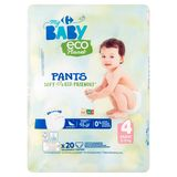 Carrefour Baby Eco Planet 4 Maxi 8-15 kg 20 Ecologische Broekjes