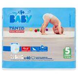 Carrefour Baby Pants 5 Junior 12-18 kg 40 Broekjes