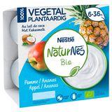 NaturNes Bio Appel / Ananas 6-36M 4 x 90 g