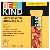 BE-KIND Honey Roasted Nuts & Sea Salt 3 x 30 g