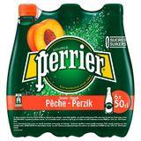 PERRIER®Bruisend Natuurlijk Mineraalwater Gearomatiseerd met Perzik Pak 6* 50 cl