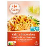 Carrefour Extra Feuilleté Saumon Sauce Fromage Fondu Vin Blanc 350 g