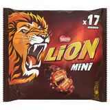 LION Mini Chocoladerepen 350 g