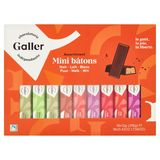 Galler Assortiment Mini Bâtons Puur Melk Wit 18 x 12 g