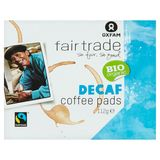 Oxfam Fairtrade Bio Organic Decaf Coffee Pads 16 Stuks 112 g
