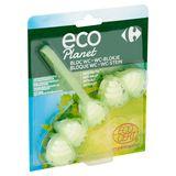 Carrefour Eco Planet WC-Blokje Munt- en Eucalyptusgeur 55 g