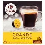 Carrefour Extra Grande 100% Arabica 16 x 7.5 g