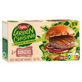 Iglo Green Cuisine Burgers végétariens 200g