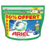 Ariel All-in-1 Pods + Actieve Geurbestrijding , 62 Wasbeurten