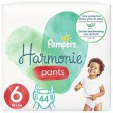 Pampers Harmonie Pants Maat 6, 44 Luierbroekjes, 15kg+