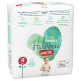 Pampers Harmonie Nappy Pants Taille 4, 24 Couches-Culottes, 9kg-15kg