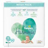 Pampers Harmonie Maat 1, 80 Luiers, 2kg-5kg