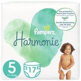 Pampers Harmonie Maat 5, 17 Luiers, 11kg-16kg