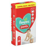 Pampers Baby-Dry Pants Couches-Culottes T4, 64Culottes, 9kg-15kg