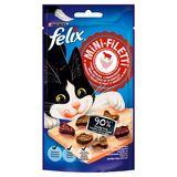 FELIX Mini-Filetti Alimentation Chat Goût de Boeuf & Poulet Snack 40 g