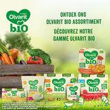 Olvarit Bio repas enfant petit pois, fenouil, quinoa - 12 mois 230g