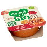 Olvarit Bio repas enfant boulghour, tomates, bœuf - 12 mois 230g