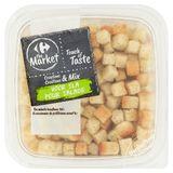 Carrefour The Market Mix Geroosterde Croutons - Kruiden 100 g