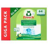 Frosch Ecological All-in-1 Green Lemon Giga Pack 64 Stuks 1280 g