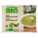 Carrefour Bio Puree 100% Broccoli 450 g