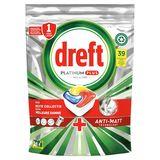 Dreft Platinum Plus All In One Citron Lave-Vaisselle, 39Capsules
