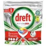 Dreft Platinum Plus All In One Citron Lave-Vaisselle, 29Capsules