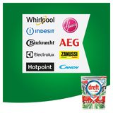 Dreft Platinum Plus All In One Cool Blue Lave-Vaisselle, 19 Capsules