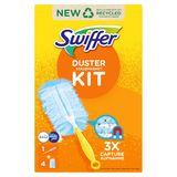 Swiffer Duster Trap & Lock-kit  (1 Handvat + 4 Navullingen)