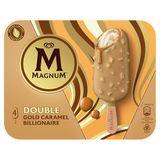 Magnum Ola Ijs Double Gold Caramel Billionaire 4x85 ml