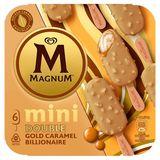 Magnum Ola Ijs Double Gold Caramel Billionaire Mini 6x55 ml