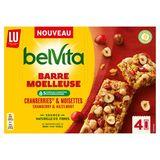 LU BelVita Barre Moelleuse Cranberries & Noisettes  160 g