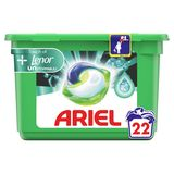 Ariel All-in-1 Pods + Unstoppables Wasmiddelcapsules, 22 Wasbeurten
