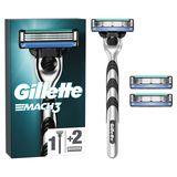 Gillette Mach3 Rasoir pour Homme - 3lames