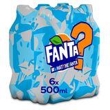 Fanta WTF No Sugar PET 6 x 500ml