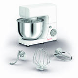 MOULINEX - Robot culinaire multifonction - Gris/Blanc - QA150110