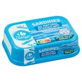 Carrefour Classic' Sardines in Eigen Nat 135 g