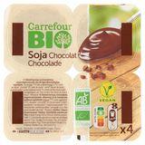 Carrefour Bio Soja Chocolat 4 x 100 g