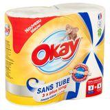 Okay Sans Tube 2 Rouleaux (2r=6r) Maxi
