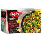 Iglo Veggie Poivrons Couscous Fèves de Soja Pousses de Bambou 400 g