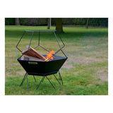 Barbecook Brasero en acier 60x60x75 cm Jura
