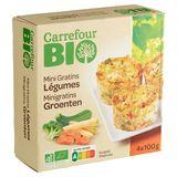 Carrefour BIO Mini Gratins Légumes 4 x 100 g