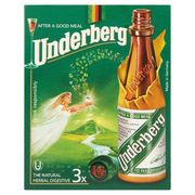 Underberg The Natural Herbal Digestive 3 x 20 ml