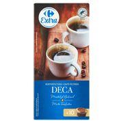 Carrefour Café Filtres Deca Doux 10 Pièces 75 g