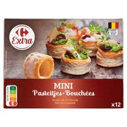 Carrefour Zakouski Bladerdeeg 12 Stuks 54 g