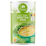 Carrefour Soup Erwten met Spek 460 ml