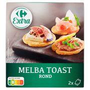 Carrefour Melba Toast Rond 2 Zakjes 110 g