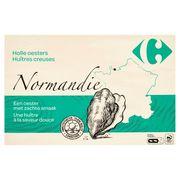 Carrefour FQC Huîtres Creuses Normandie